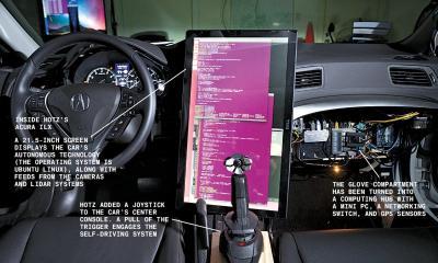 自動運転の開業